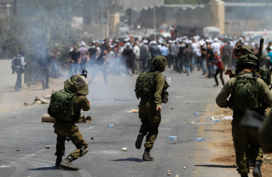 Friday of protests across the West Bank