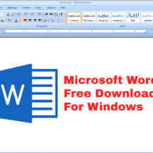 Microsoft Word Free Download In Modern World