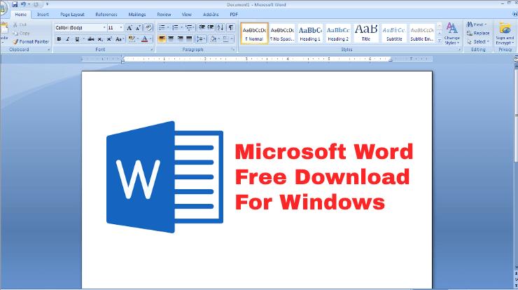 Microsoft Word Free Download In Modern World